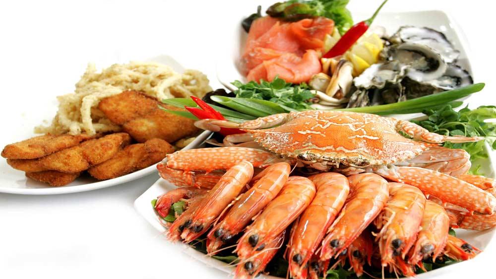 Zambar brings live sea food menus