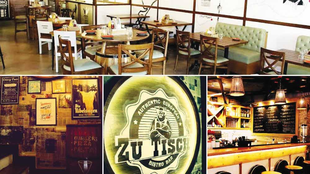 Zu Tisch The German Bistro Bar Opens In Delhi