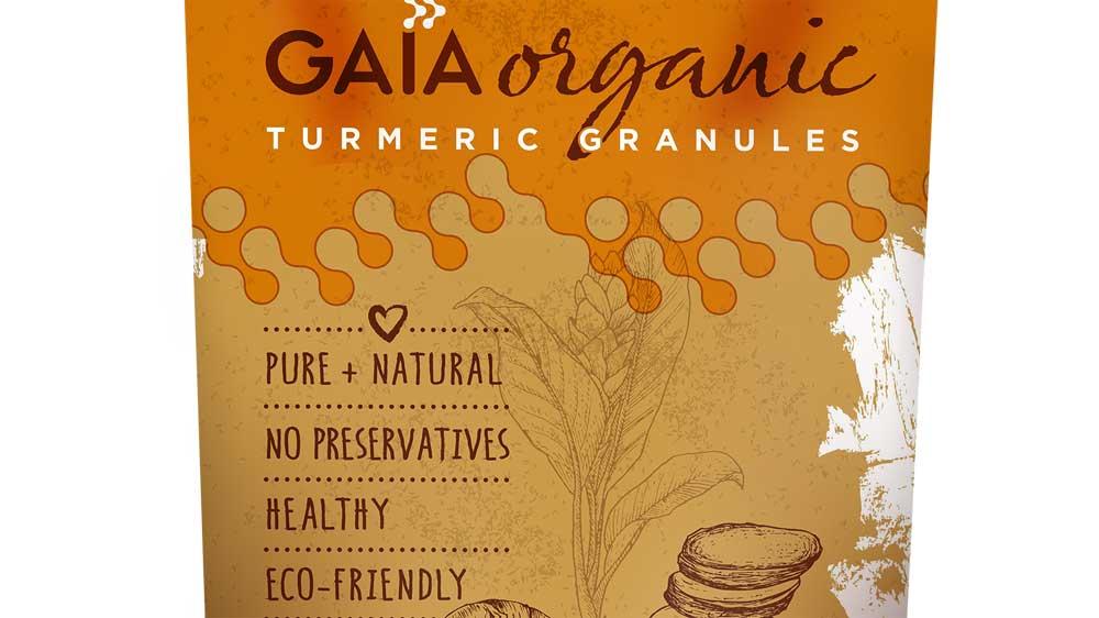 Gaia Launches Organic Turmeric Granules