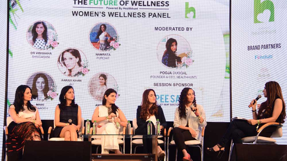 "Healthhunt anchors debut edition of ""Future of Wellness"""