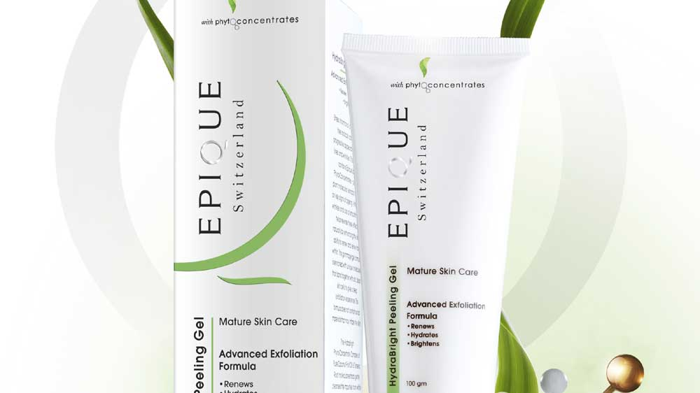Epique introduces Natural Hydra Bright Peeling Gel