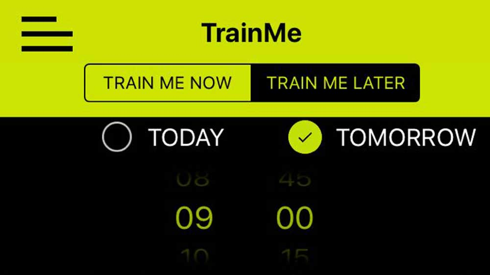 TrainMe, The Uber for Fitness app offers first two sessions free