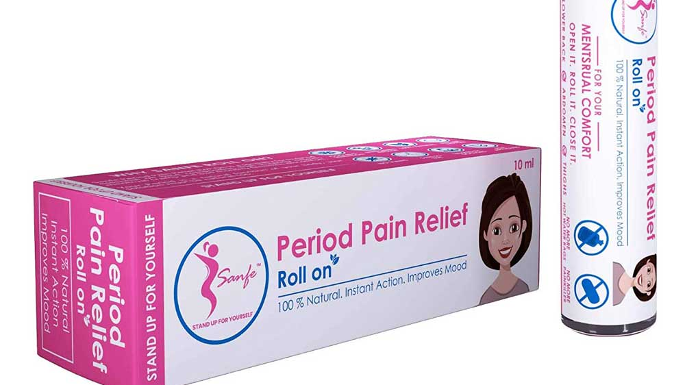 IIT-D incubated startup Sanfe introduces Sanfe Period pain relief roll on