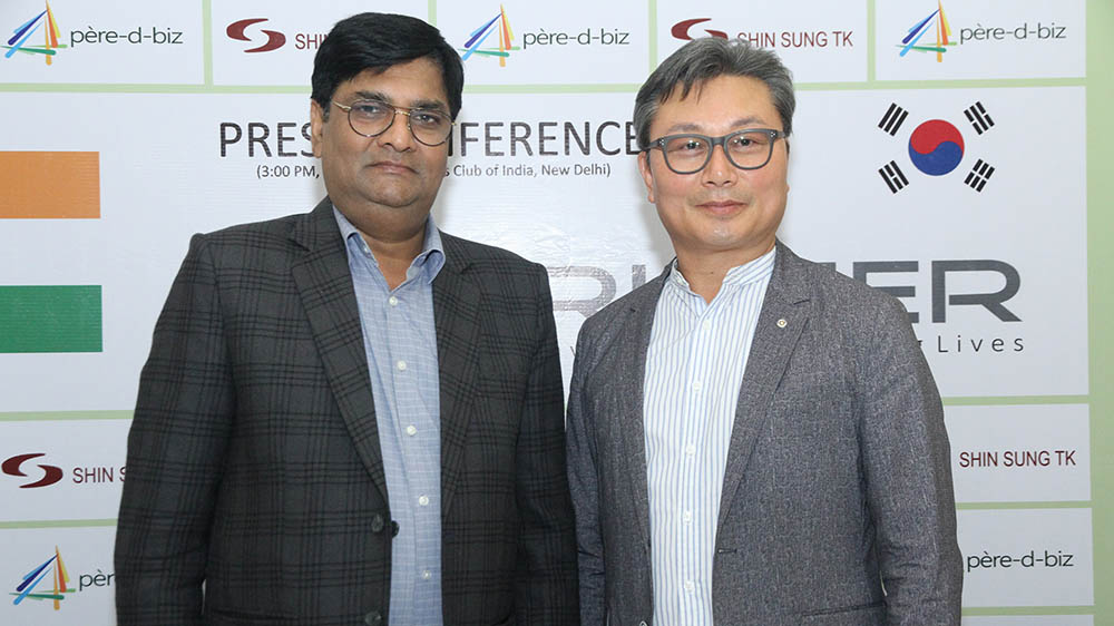 SHIN SUNG TK CO LIMITED Enter Healthcare Market In India in Joint Venture With Pere-D Biz