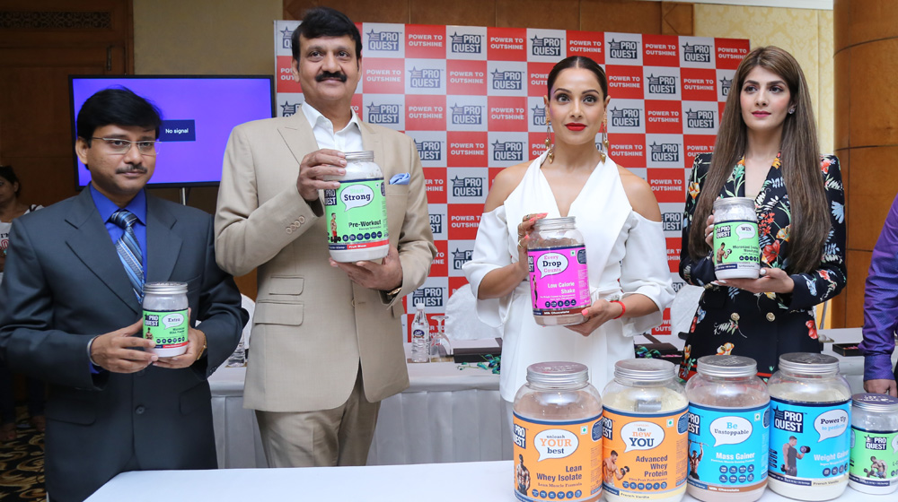 Bollywood actor Bipasha Basu unveils Proquest Nutrition