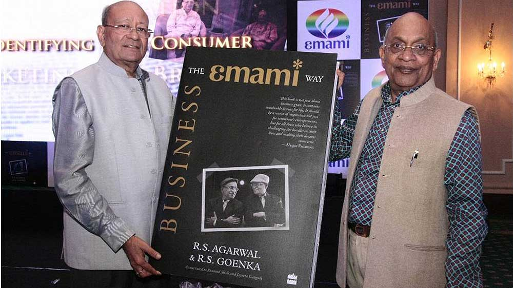 Emami   s founders pen down their experiences to teach    Business- The Emami Way