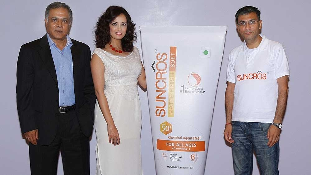 Sun Pharma launches Suncros brand of sunscreen product, ropes in Bollywood diva Dia Mirza