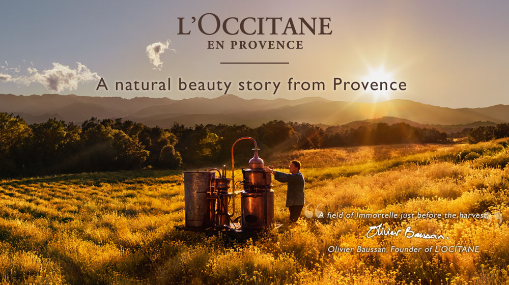 L'Occitane successfully completes 40 long years globally