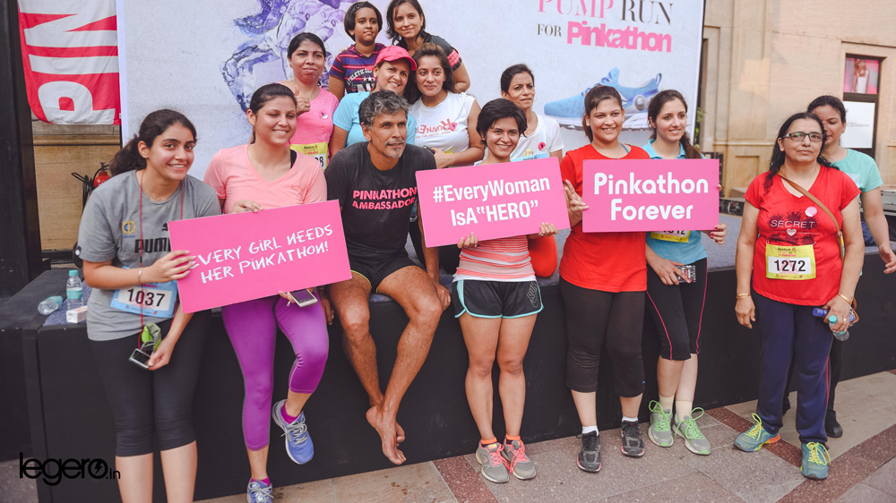 Reebok Pump Run for Pinkathon engages fitness enthusiasts of the capital