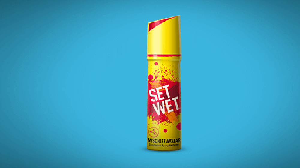 Set Wet starts a campaign for its new personalized deodrant range