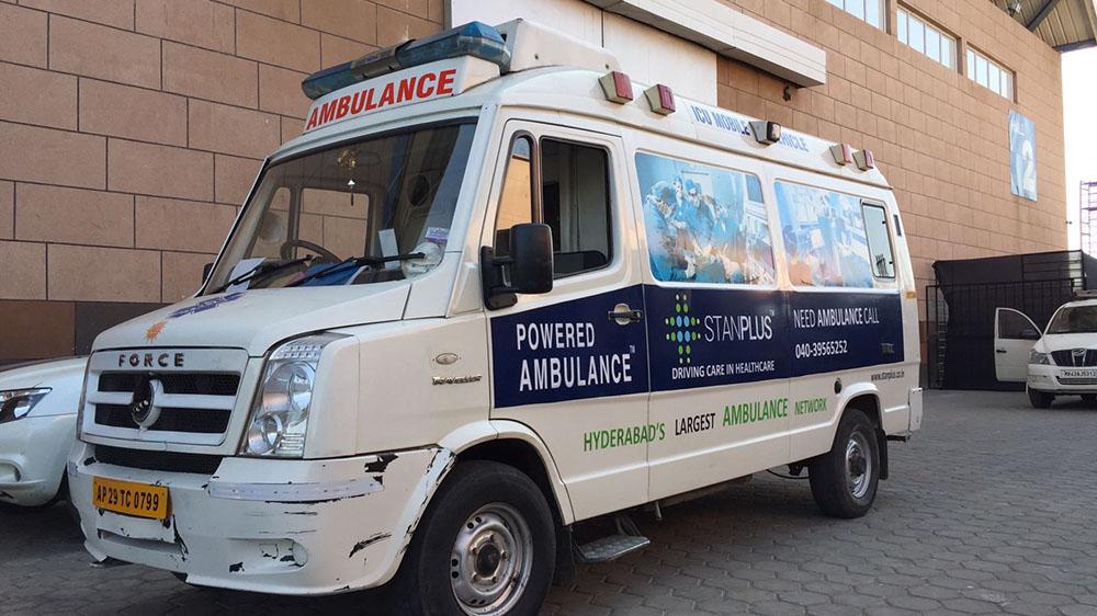 Hyderabad based medical transportation raises $1.1 Million Fund