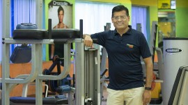 We cater to over 100 corporates and over 25,000 households: Fitness One