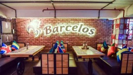 What made Barcelos open world's biggest outlet at Gurgaon?