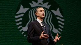 Be nicer to the stock turmoil: Starbucks CEO