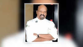 Chef Ramasamy Selvaraju awarded with