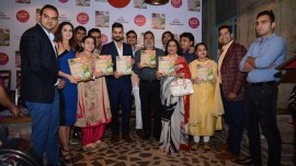Michael Swamy launches India's first café inspired book