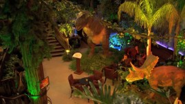 Dinosaur-themed restaurant