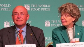 Dr. Mary Dell Wins World Food Prize