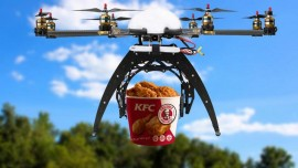 'Drone' for delivery