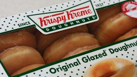 Festive treats at Krispy Kreme