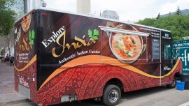 Food Trucks entices business hubs with great food offerings