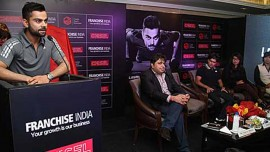 Franchise India joins hands with Cricketer Virat Kohli to expand his Chisel Fitness brand in India