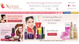 FSN E-commerce Ventures lead Nykaa com looks for 100 cr funds to expand private label