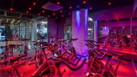 Here is how Gold   s Gym brilliantly aligned design ethos to sweat out space