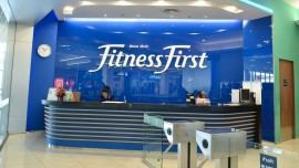 Health club Fitness First re-brands its logo