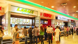 How food brands have replaced retail giants in malls?