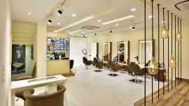 Insight of Magnifique boutique salon- showcasing premium designs & offering par excellence services