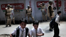 The fire of hatred fails to burn the desire to study of Kashmiri students
