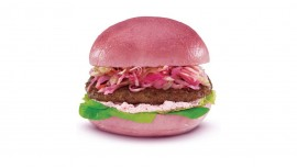 KFC focuses on boosting sale, launches Pink burger in China