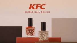 Its fingerlicious good!!! KFC enters nail polish range