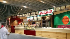 Krispy Kreme turns one in Bangalore
