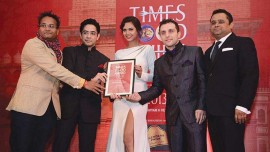 Leela Palace's restaurants win awards