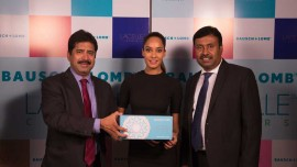 Lisa Haydon turns brand ambassador for Bausch & Lomb coloured cosmetic lenses