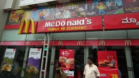 McDonald's enters the business capital of Andhra Pradesh