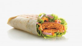 McDonald's introduces saucy wraps