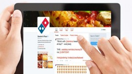 Now ordering a pizza at Domino s becomes easy with Zippr