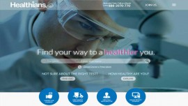 Online marketplace for Medical Labs Healthians.com introduces advance services