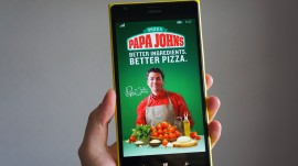 Want a bite of pizza? Just click on the app and get it anywhere!
