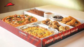 Pizza Hut launches 10.5 inch pizza
