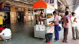 Central railway to work on hygiene and quality of food served at station stalls