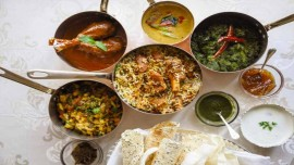 Royal salute evenings at Firdaus, Taj Krishna