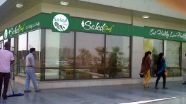 Salad Chef Food spreading wings via franchising