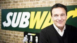 Sandwich Man Fred DeLuca Subway CEO and Co-Founder Dies at 67