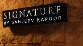 Sanjeev Kapoor's Signature now in Abu Dhabi