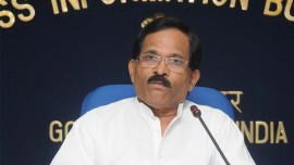Shripad Yesso Naik says service providers in health industry must work towards improvement