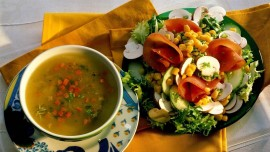 Soup & Salad Special at Vicinia